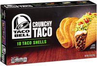 Taco Bell® Crunchy Taco Shells 18 ct. Box