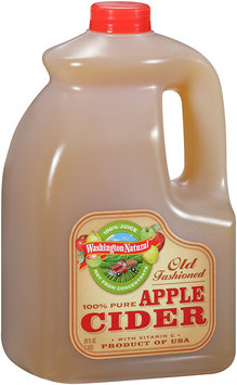 Washington Natural™ 100% Juice Not From Concentrate Old Fashioned 100% Pure Apple Cider 89 oz Jug