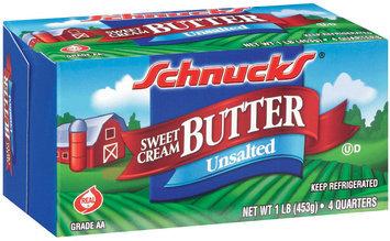 Schnucks Sweet Cream Unsalted Butter 1 Lb Box