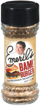 Emeril's Bam! Burger Hamburger Seasoning 3.72 Oz Shaker