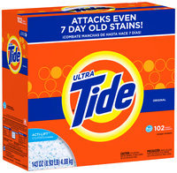 Tide Ultra Original Scent HE Powder Laundry Detergent 143 oz. Box
