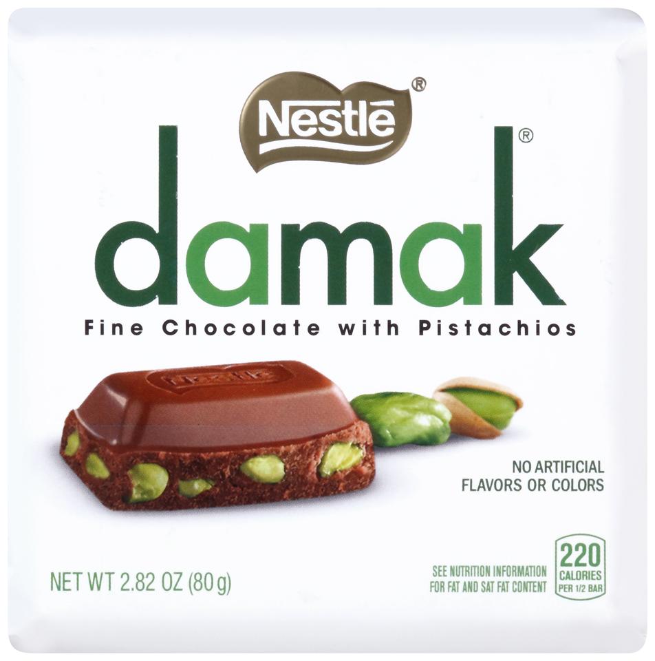 Nestlé Damak Fine Chocolate with Pistachios