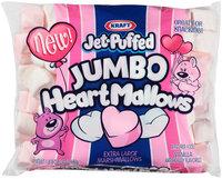 Kraft Jet-Puffed Jumbo HeartMallows Marshmallows 24 oz. Bag