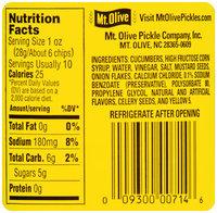 Mt. Olive Jalapeno Bread & Butter Chips Fresh Pack 16 fl. oz. Jar