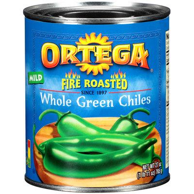 Ortega® Fire Roasted Whole Green Mild Chiles 27 oz. Can