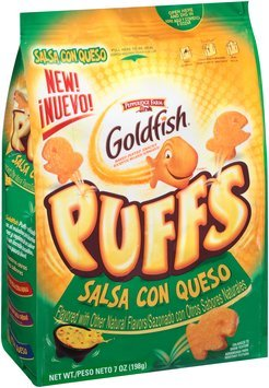 Pepperidge Farm® Goldfish® Puffs Salsa Con Queso Baked Puffed Snacks 7 oz. Bag