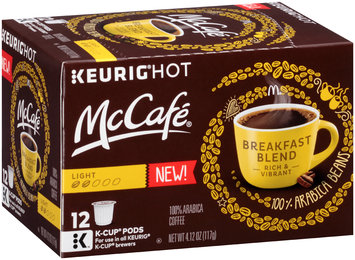 McCafe Breakfast Blend Coffee K-Cup® Pods 12 ct Box
