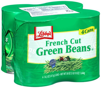 Libby's® French Cut Green Beans 4 pk 14.5 oz