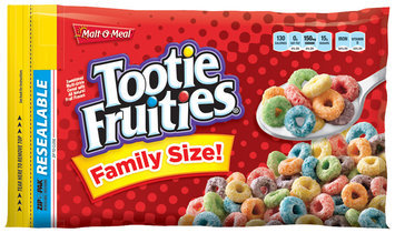 MALT-O-MEAL Tootie Fruities Cereal 22.5 OZ ZIP PAK