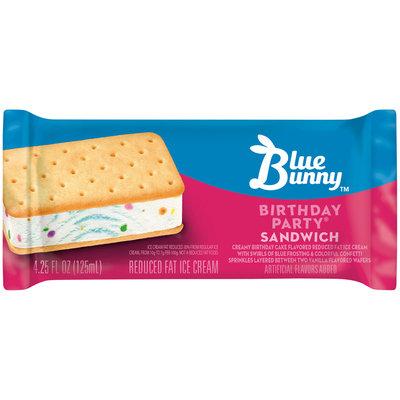 Blue Bunny™ Birthday Party® Ice Cream Sandwich 4.25 fl. oz. Wrapper
