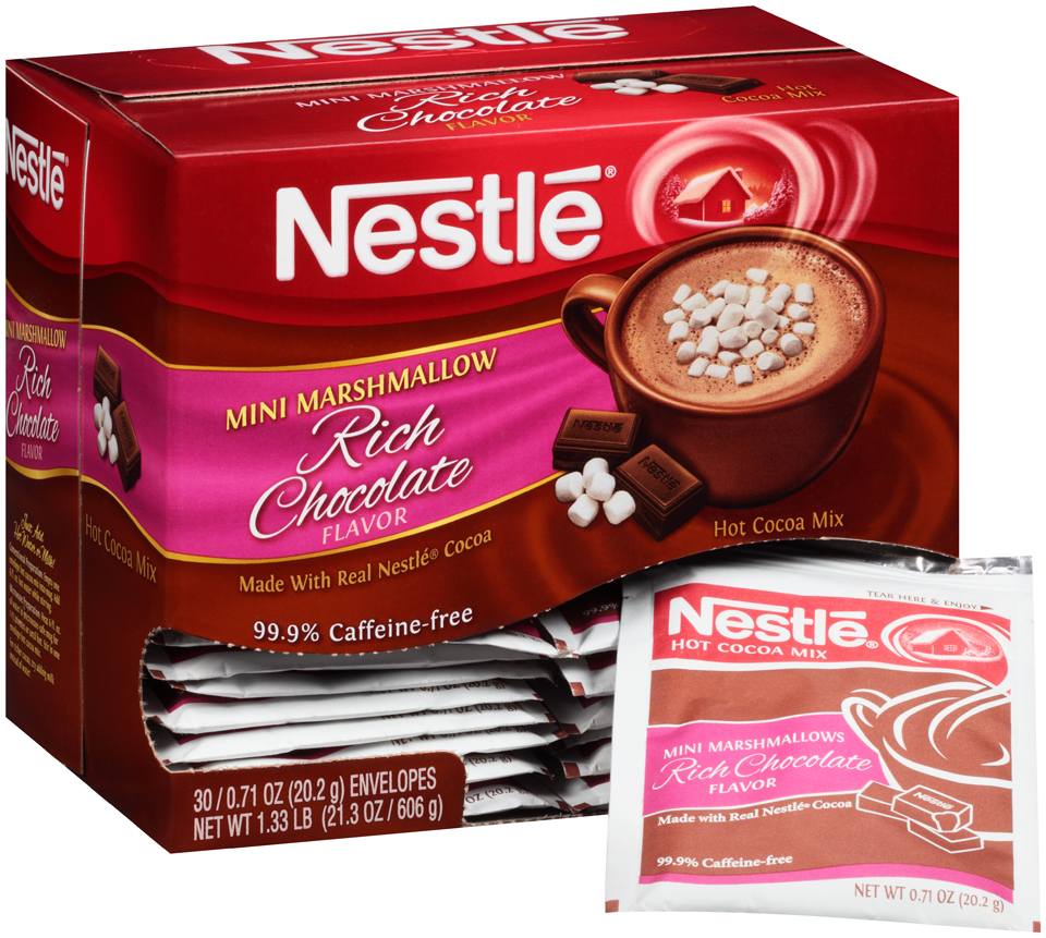 Nestlé® Mini Marshmallow Rich Chocolate Hot Cocoa Mix 30-0.71 oz. Packets
