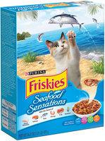 Purina Friskies Seafood Sensations Cat Food 16.2 oz. Box