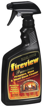 Spray Nine® Premium Fireplace Glass & Wood Stove Cleaner Fireview 25 Oz Trigger Spray