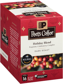Peet's Coffee® Holiday Blend Dark Roast Coffee 16 ct. Box