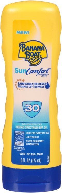 Banana Boat® SunComfort™ SPF 30 Sunscreen Lotion 6 fl. oz. Bottle