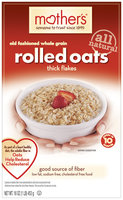 Mother's 100% Natural Whole Grain Rolled Oats 16 Oz Box
