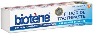 Biotene® Gentle Formula Fresh Mint Original Fluoride Toothpaste 0.70 oz. Box