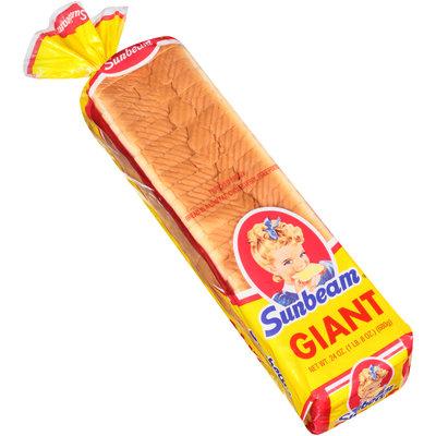 Sunbeam® Giant Loaf Enriched Bread 24 oz. Bag