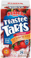 Stater Bros. Frosted Strawberry 8 Ct Toastee Tarts 14.6 Oz Box