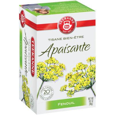 Teekanne Herbal Wellness Purely Fennel Tea Tea Bags 20 Ct Box