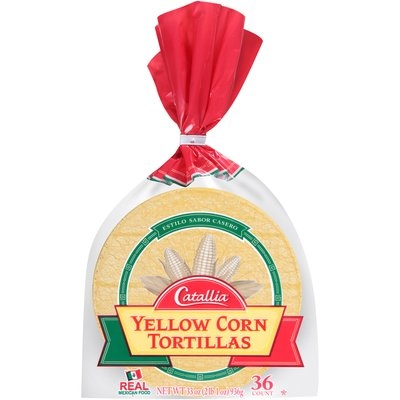 Catallia® Yellow Corn Tortillas 33 oz. Bag
