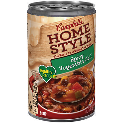 Campbell's Home Style Spicy Vegetable Chili Soup 19 oz.