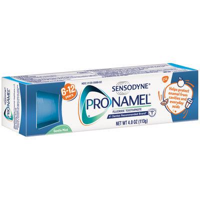 Sensodyne® Pronamel® Gentle Mint Fluoride Toothpaste 4.0 oz. Box