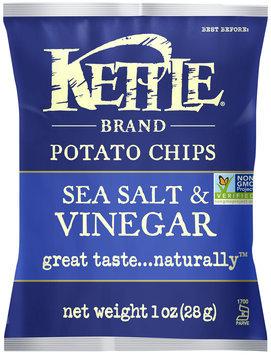 Kettle Brand® Sea Salt & Vinegar Potato Chips 1 oz. Bag