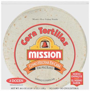 Mission Corn Como Hechas EN Casa 36 Ct Tortillas