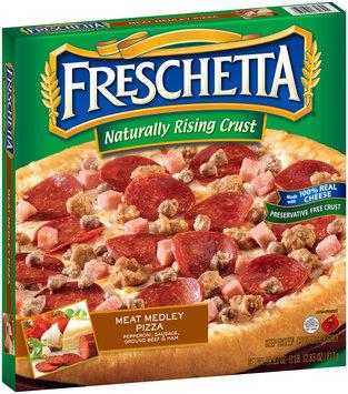 Freschetta® Naturally Rising Crust Meat Medley Pizza 28.83 oz. Box