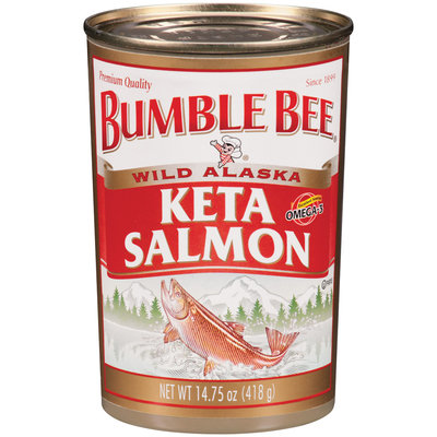 Bumble Bee Wild Alaska Keta Salmon 14.75 Oz Can