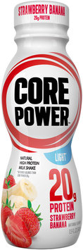 Core Power™ Natural High Protein Milk Shake Strawberry Banana Light 11.5 fl. oz. Plastic Bottle