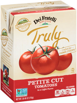 Dei Fratelli Truly™ Petite Cut Tomatoes in a Light Puree 26.46 oz. Carton