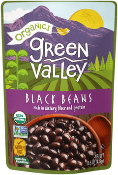 Green Valley® Organics Black Beans 15.5 oz. Pouch