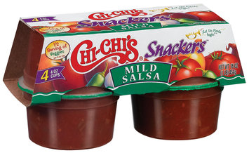Chi-Chi's® Snackers™ Mild Salsa 4-4 oz. Cups