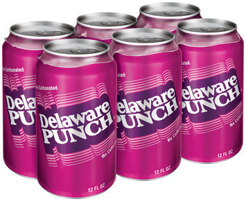 Delaware Punch 12 oz 6 pk Cans