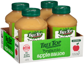 Tree Top® No Sugar Added Organic Apple Sauce 47.3 oz. Plastic Jar
