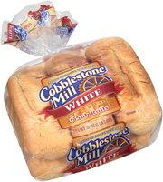 Cobblestone Mill® White Sub Rolls 6 ct Bag