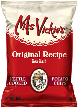 Miss Vickie's® Original Recipe Sea Salt Kettle Cooked Potato Chips 9 oz. Bag