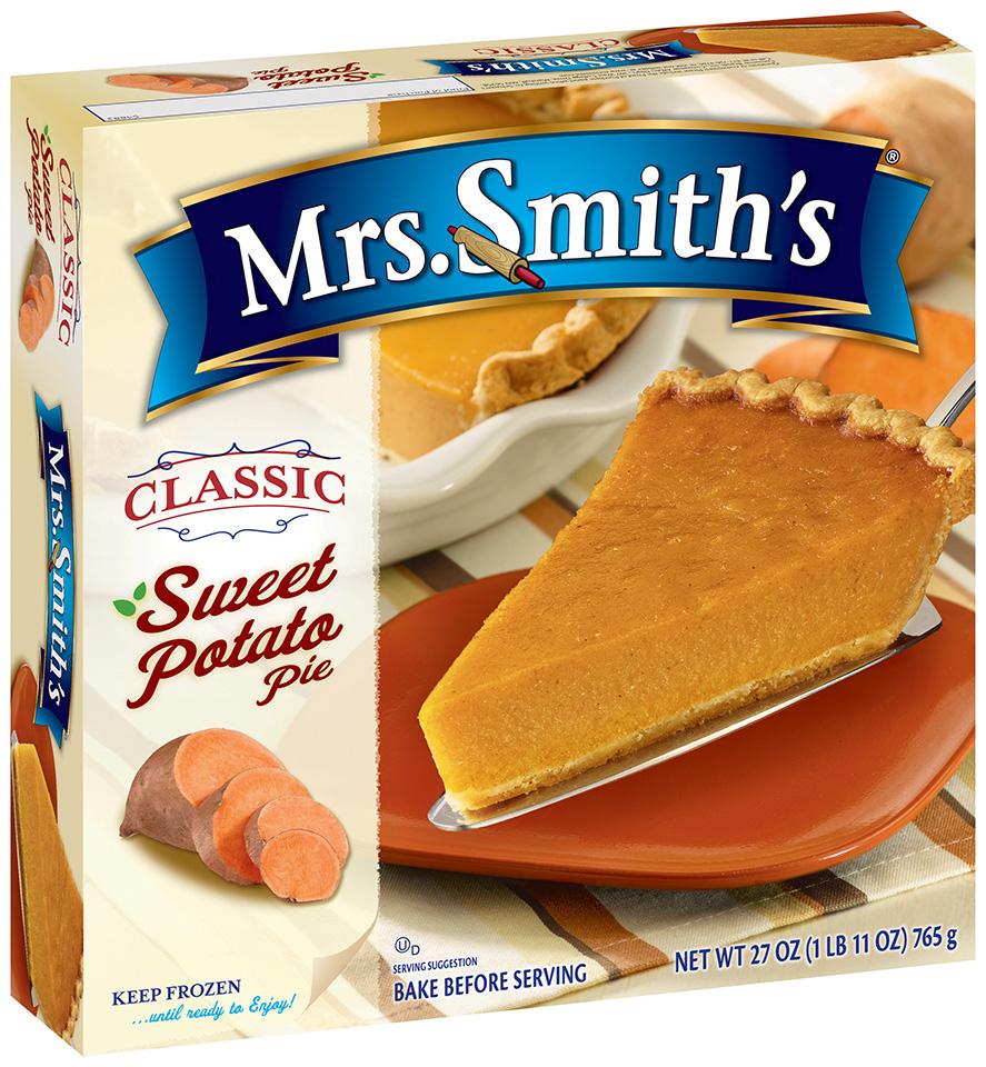 Mrs. Smith's® Classic Sweet Potato Pie 27 oz. Box