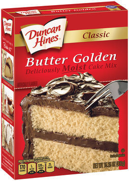 Duncan Hines® Classic Butter Golden Cake Mix