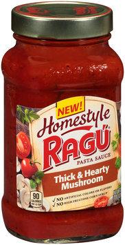 Ragu® Homestyle Thick & Hearty Mushroom Pasta Sauce 23 oz. Jar