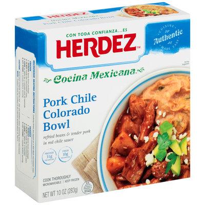 Herdez™ Cocina Mexicana Pork Chile Colorado Bowl, 10 oz. Box
