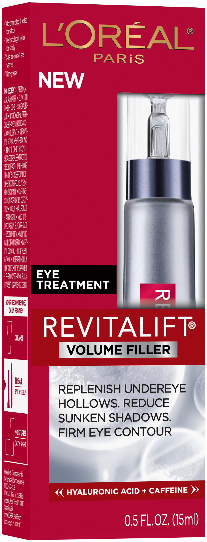 L'Oréal® Paris RevitaLift® Volume Filler Eye Treatment 0.5 fl. oz. Box