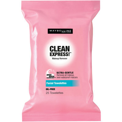 Maybelline Clean Express!™ Makeup Remover Facial Towelettes