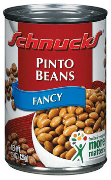 Schnucks Fancy Pinto Beans 15 Oz Can