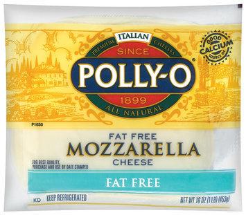 Polly-O Mozzarella Fat Free Cheese 16 Oz Well