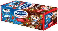 Yo Crunch® Strawberry with Oreo®/M&M's® Variety Pack 8-6 oz. Cups