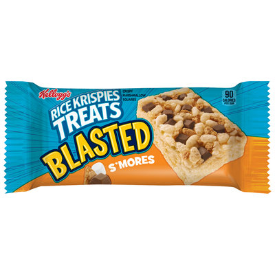 Kellogg's® Rice Krispies Treats® Blasted™ S'mores Crispy Marshmallow Squares