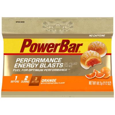 PowerBar® Performance Energy Blasts Orange Gel Filled Chews 2.12 oz. Pack